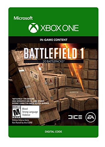 Battlefield 1: Battlepack x20 - Xbox One Digital Code