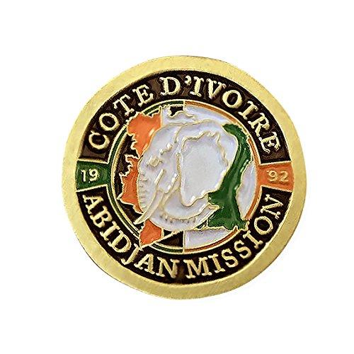 LDS Cote d'Ivoire Abidjan Mission Commemorative Lapel ()