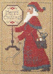 2004 Santa Cross Stitch Chart (Santa Cross Stitch Chart)