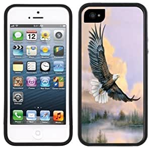 Bald Eagle Soaring Handmade iPhone 5 5S Black Case