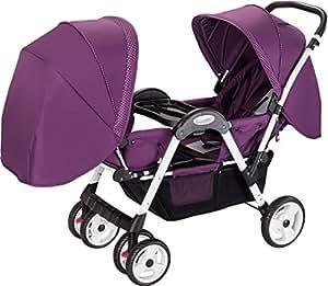 Amazon Com Amoroso Luxuries Double Stroller Baby