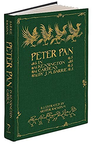 book cover of Peter Pan in Kensington Gardens