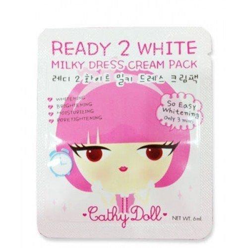 Karmart Cathy Doll Ready 2 White Milky Dress Cream Pack 1 Sachel 6ml
