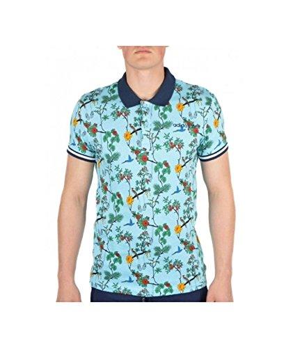 adidas Originals Polo para Hombre XS - 156 cm Azul Small: Amazon ...