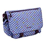 J World New York Girls' Terry Messenger Bag, Stardust