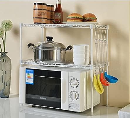 Pasamanos Muebles Cocina Horno de microondas Estantería de ...