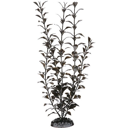 Image of Imagitarium Black Ludwigia Background Plastic Aquarium Plant, Medium
