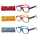 EYEGUARD Readers 3 Pack of Thin and Elegant Beautiful Womens Reading Glasses