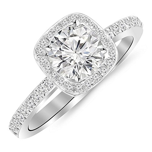 0.85 Ct Tw Round Diamond - 2