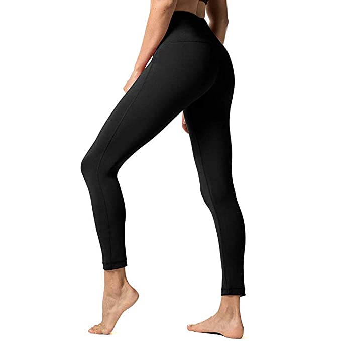 Amazon.com: Pongfunsy Women High Waist Yoga Pants Women ...