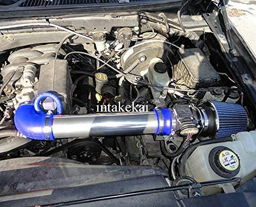 BLACK RED 1997-2003 DODGE DAKOTA//DURANGO 3.9L V6 5.2L 5.9L V8 AIR INTAKE KIT V2