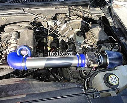 PERFORMANCE AIR INTAKE KIT FIT 1997-2003 FORD F-150 4.2L V6 ENGINE BLUE