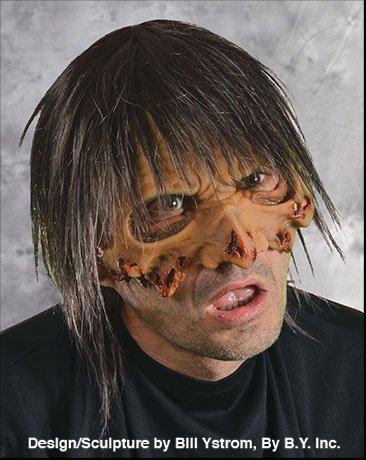 Zombie Halloween Costumes For Guys (Zagone Dead Head-Peace Mask, Zombie, Living Dead Guy)