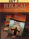 Biblical Collector's Series Set 2: Moses-Man of God/Biblical Adam & Eve/Biblical Rapture