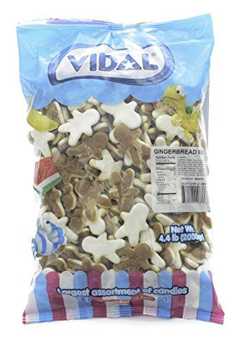 Vidal Gummi Gingerbread Men (4.4 Pounds)