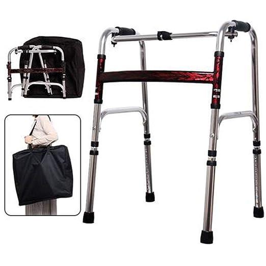 LINGPING-Andador Caminante médico Plegable Caminante Vertical ...