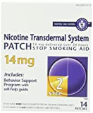 Nicotine Transdermal System Patch, Stop Smoking Aid, 14 mg, Step 2, 14 patches - Best Reviews Guide