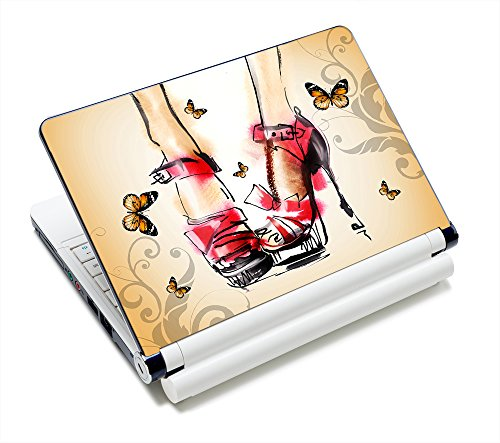 High Heel 11.6 12.1 13 13.3 14 15 15.4 15.6 inches Netbook Laptop Skin Sticker Reusable Protector for 11.6 -15.6 Inch Apple Acer Leonovo Sony Asus Toshiba Hp Samsung Dell FY-NEK-006