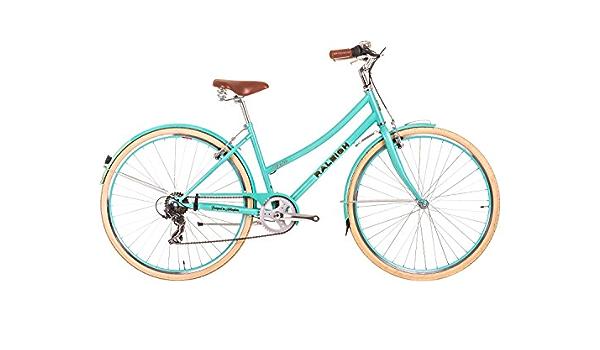 2017 Raleigh Caprice Ladies Classic estilo tradicional bicicleta verde, crema: Amazon.es: Deportes y aire libre