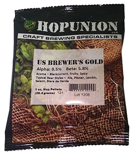 Hopunion US Hop Pellets for Home Brew Beer Making (US Brewer's (Gold Brewers)