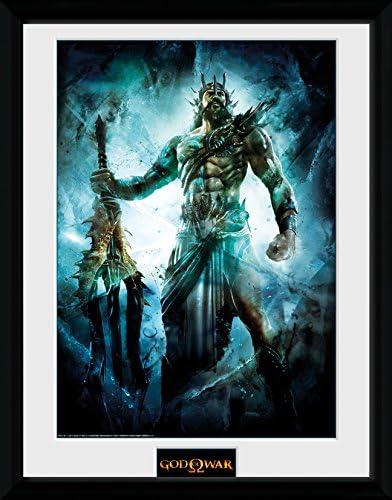 GB Eye LTD, God of War, Poseidon, Print Enmarcado, 30 x 40 cm ...