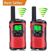 Acehome Walkie Talkies for Kids, Novelty Gifts as Festival Thanksgiving Day Halloween Christmas for Girls Boys, 2pcs 3Miles Handheld Walky Talky for Home Park Neighborhood