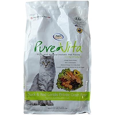 PureVita Grain Free Duck Cat Food 6.6lb