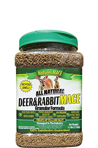 Nature's Mace Deer & Rabbit MACE 2.5lb, Treats 2,500 sq.ft.
