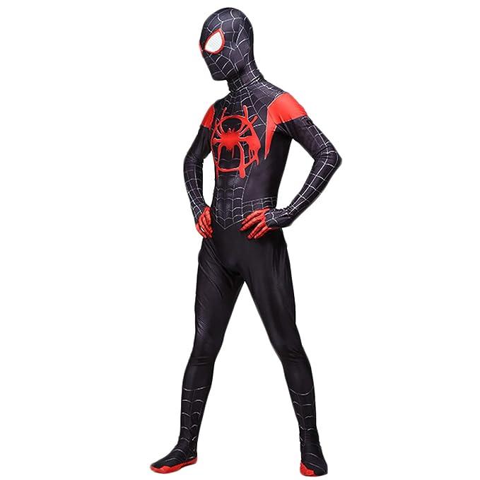 QQWE Increíble Traje de Disfraces de Spider-Man, Traje de ...