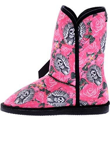 Ijzeren Vuist Womens Roze Mooie Zondaar Fugly Laarzen Schoenen