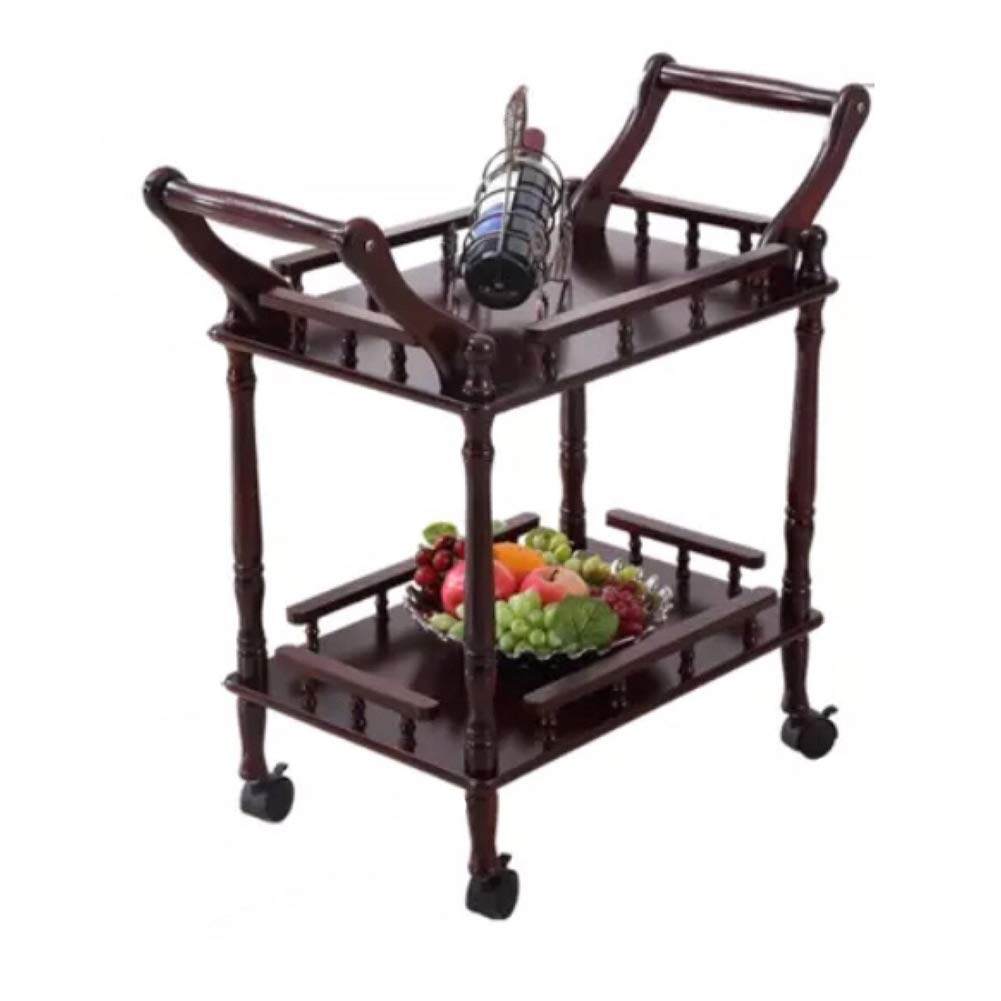 Round Hotel Restaurant Delivery Car with Wheels, Kitchen Beauty Trolley, Home Storage Cabinet, Heavy Duty, Multi-Purpose