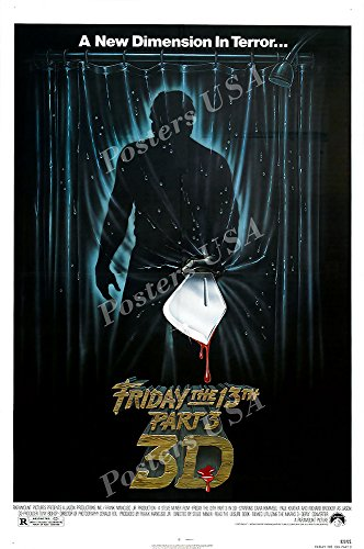 Posters USA Friday the 13th Part 3 3D GLOSSY FINISH Movie Po