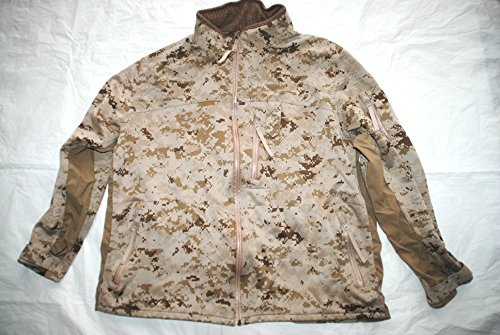 Usmc Apecs Cdj 180s Cold Weather Desert Marpat Combat Jacket Seal Devgru - X-Large (Coat Marpat)