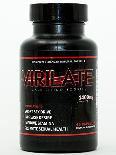 Virilate | Pillules de Perfectionnement de sexe | de la libido Enhancer pour les Hommes | les Boosters et les Exhausteurs de la Libido