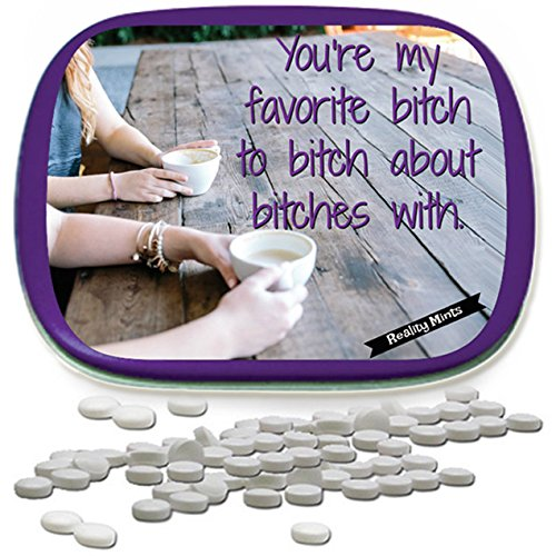 Favorite Bitch Mints Funny for Besties White Elephant Ideas Candy Gifts for Adults Chocolate Breath Mints Best Bitch Gifts Funny Friend Gift Coffee Bachelorette Party Gifts