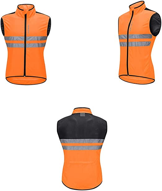XIANGHUi Camisetas de Ciclismo, Camiseta de Ciclismo sin Mangas, Cremallera Completa Transpirable Ligero Slim Fit Camisa de Bicicleta de Carretera/de montaña de Secado rápido Unisex: Amazon.es: Deportes y aire libre