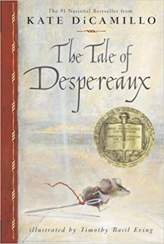 Image result for the tale of despereaux cover amazon