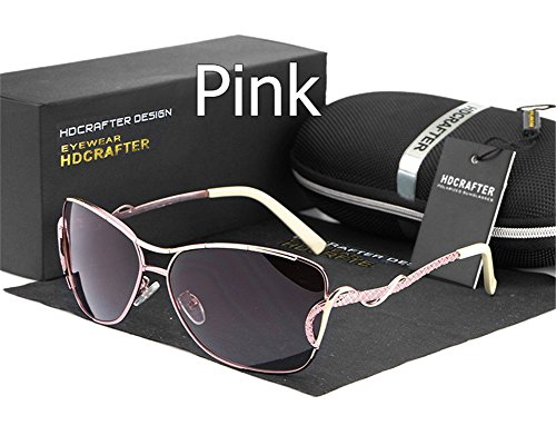 Women's Driving Sunglasses 100% UV Protection Polarized Outdoor Sport - Glasses Benefits Titanium