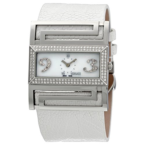 Versace Deauville Mother of Pearl Diamond Ladies Watch VSQ91SD001-S001