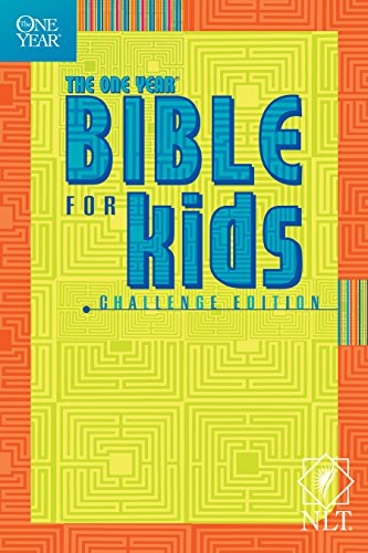 The One Year Bible for Kids, Challenge Edition NLT (Tyndale - Houston Prime Mall Outlet