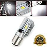H4 Motorcycle Headlight 7 inch 35W 3000LM LED 12-24V Turn Signal Light (6W BA20D)