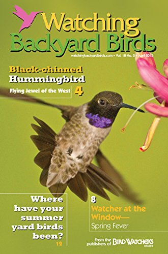 Watching Backyard Birds Newsletter (Bird Magazine)