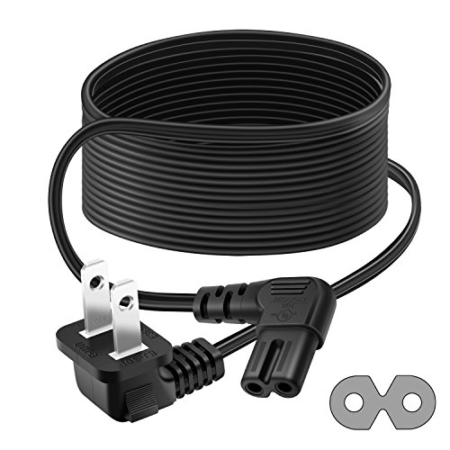 Outtag Ul Listed 12ft Ac Power Cord L Type 18awg 2 Prong W