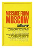 img - for Message from Moscow by an Observer book / textbook / text book