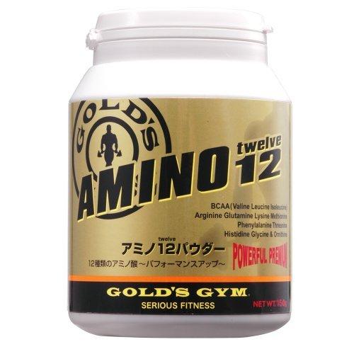 【GOLD`S GYM  (ゴールドジム)】 アミノ12パウダー 500g B0017RZQFY