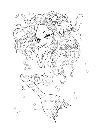 Coloring book for adults. Whimsical Wonders: The Artist's Edition. Color up a Fantasy Mermaids, Pirates, Princesses, Fairies and more
