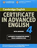 Cambridge Certificate in Advanced English, Cambridge ESOL Staff and Cambridge Esol, 0521156904