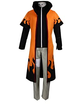 Mtxc Hombre Naruto Cosplay Disfraz Uzumaki Naruto quinto Tamaño ...