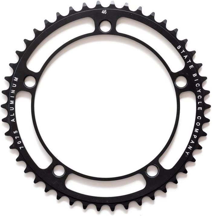 State Bicycle Black Label Series: 46T Chainring - Black