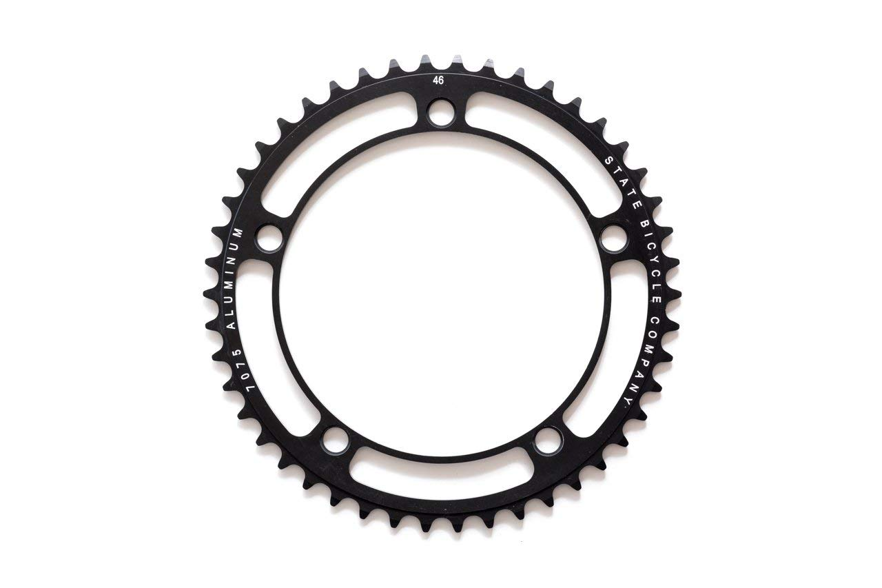 49T Chainring State Bicycle Black Label Series Black